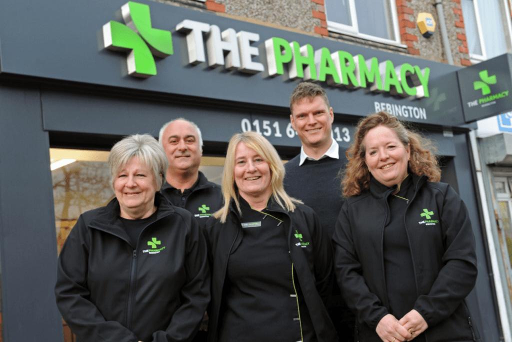 pharmacy bebington